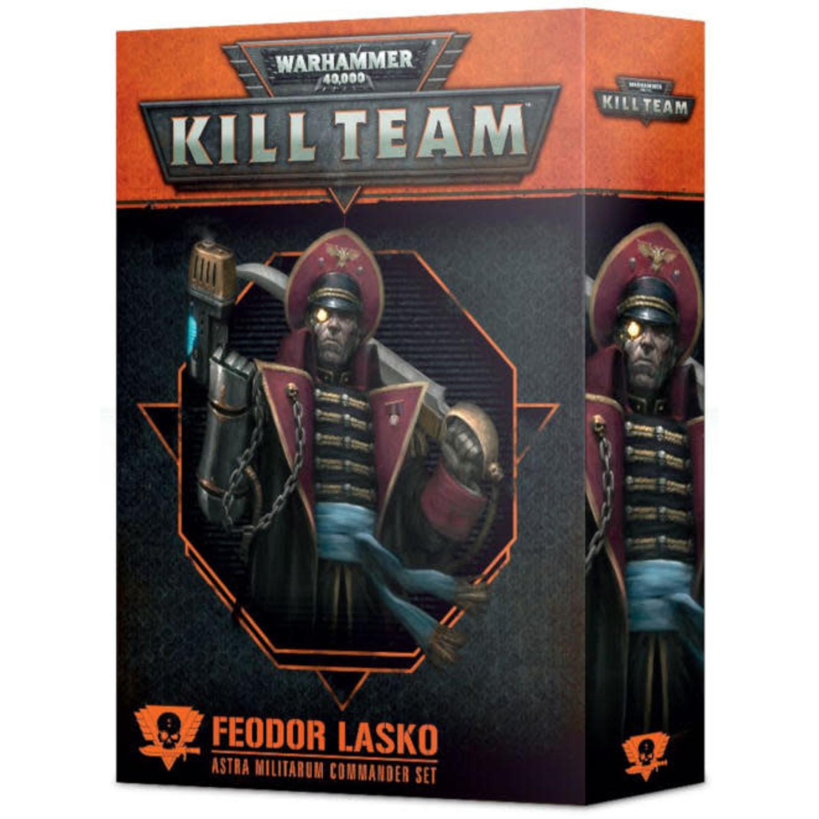 Kill Team Commanders Feodor Lasko (40K)