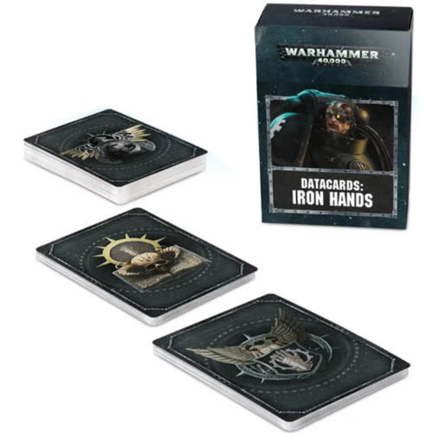 Iron Hands Datacards (40K)