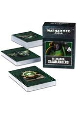 Salamanders Datacards (40K)