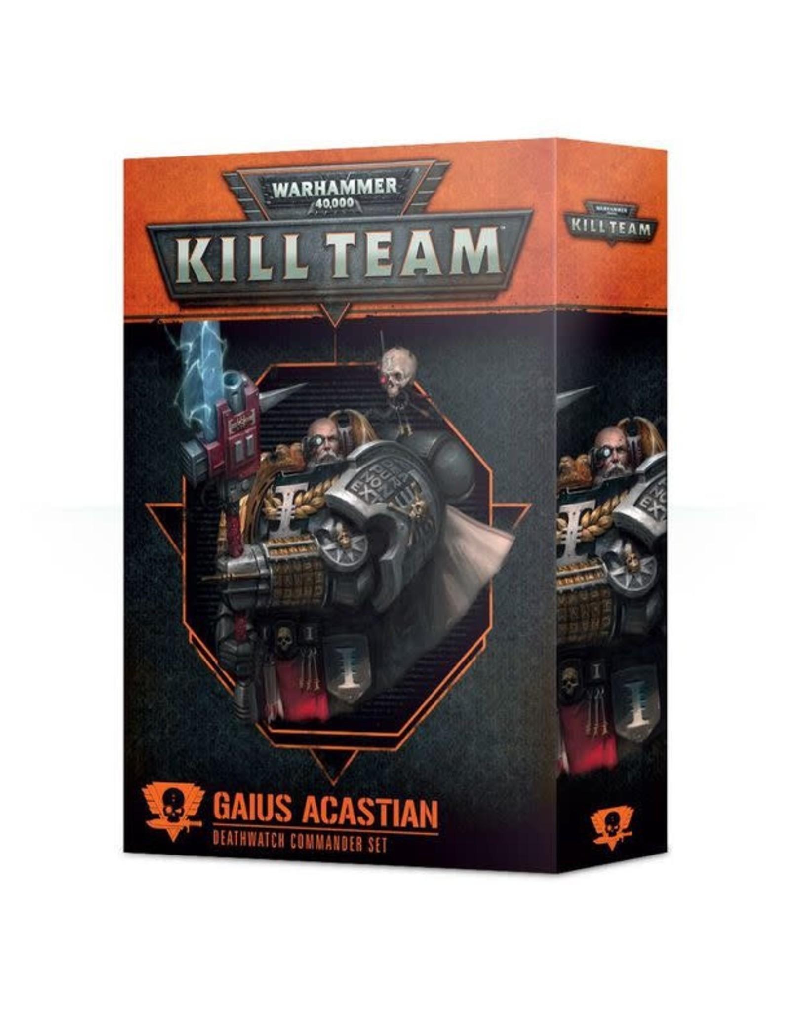 Kill Team Commanders Gaius Acastian (40K)