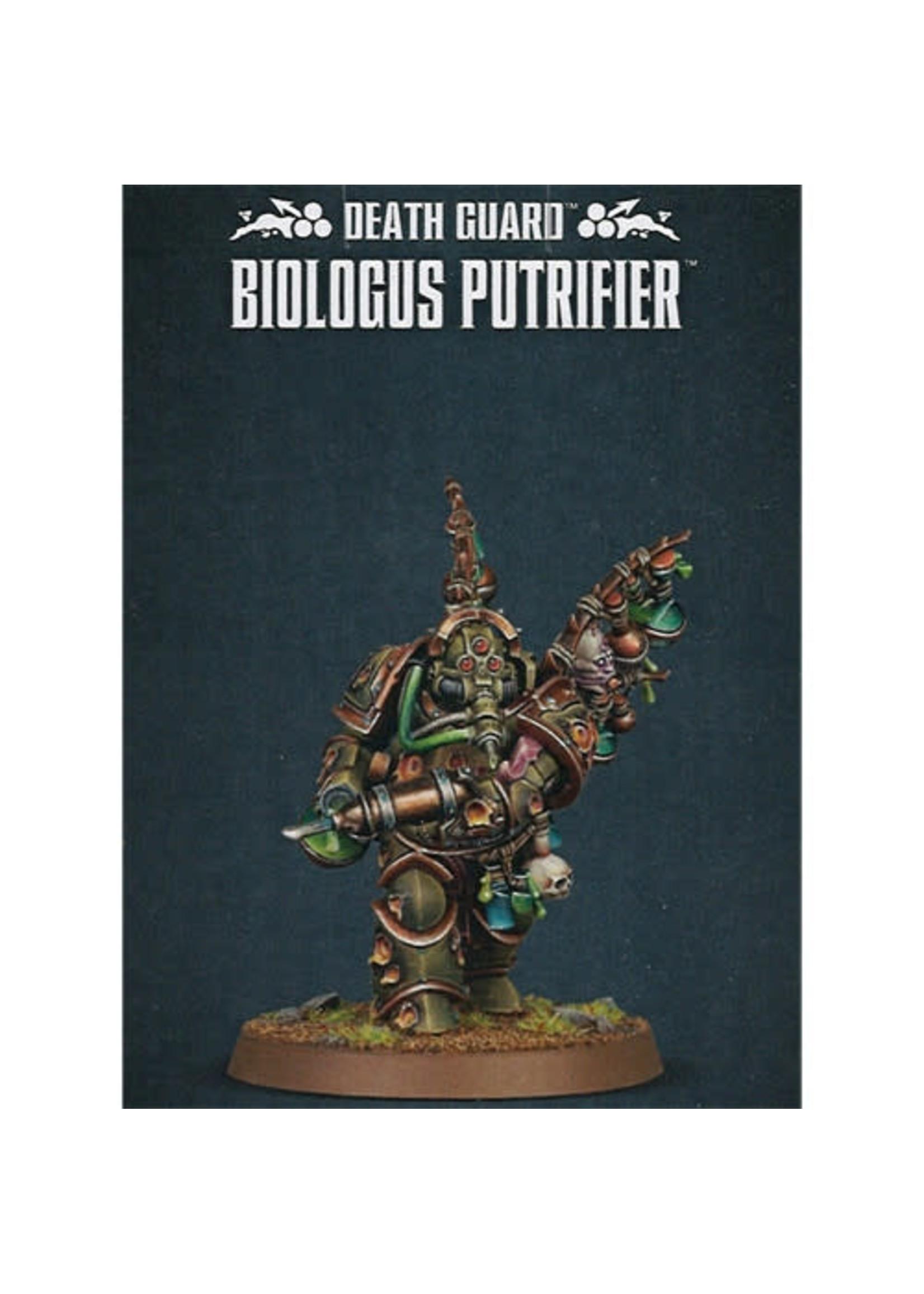 Death Guard Biologus Putrifier (40K)
