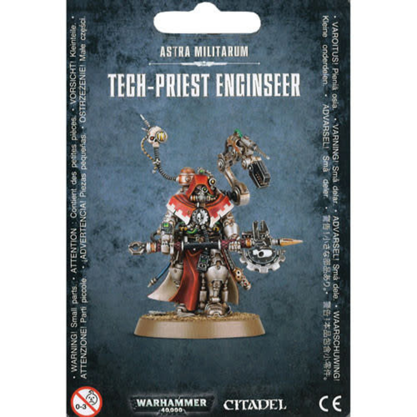 Adeptus Mechanicus Tech-Priest Enginseer (40K)