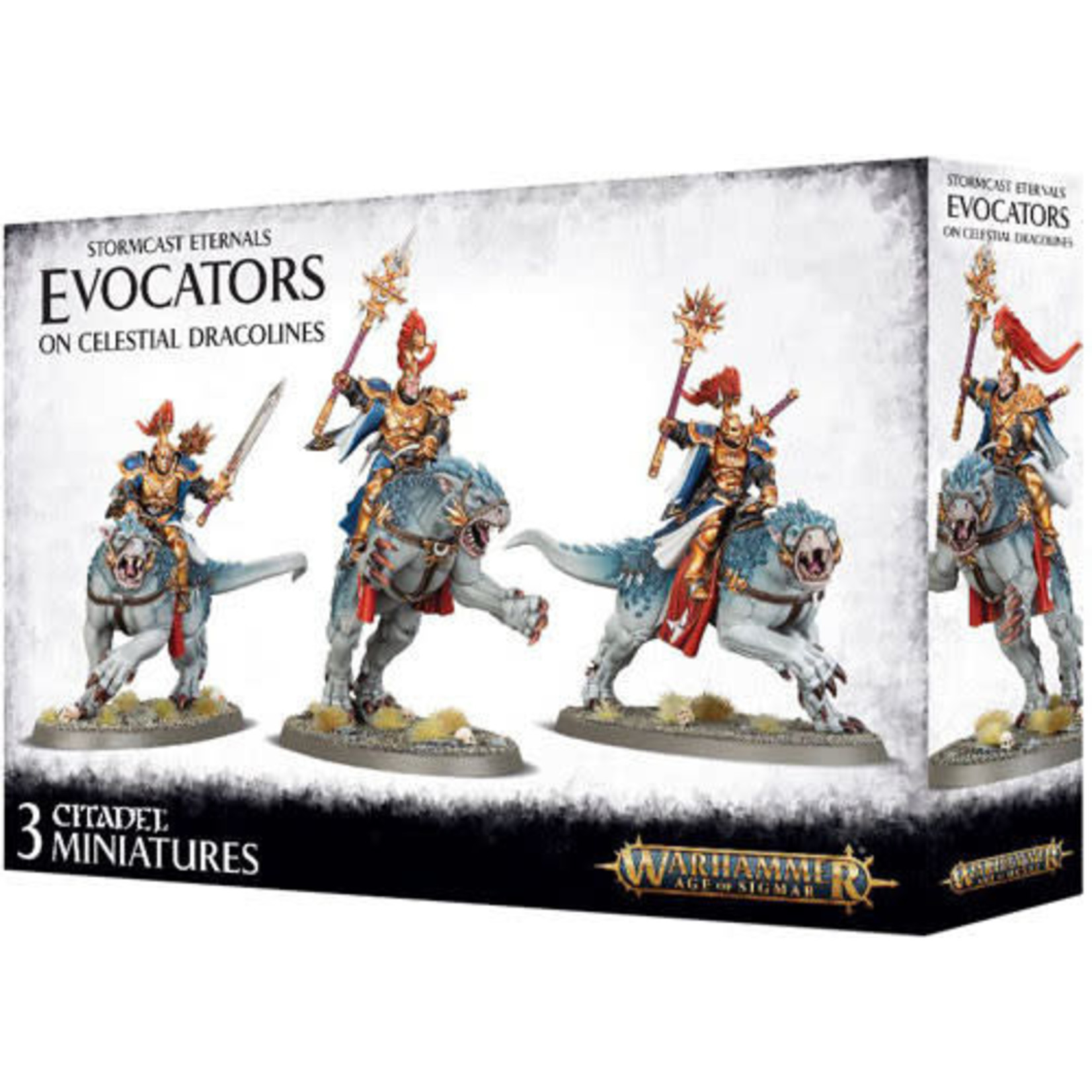 Evocators on Celestial Dracolines (AOS)