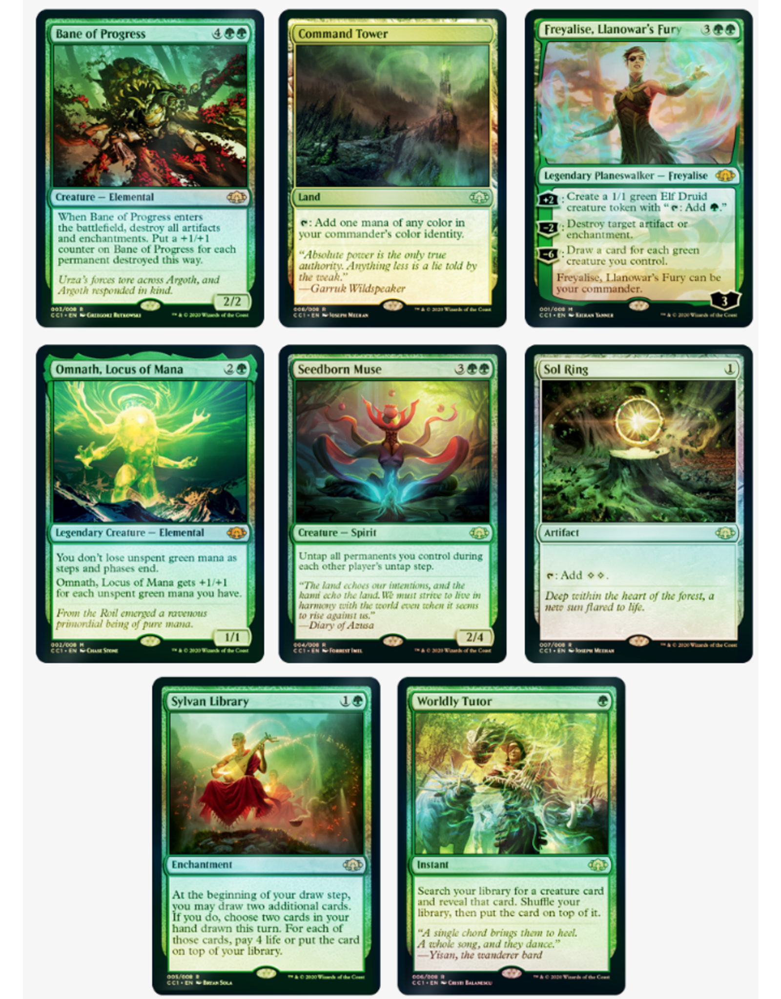 Wizards of the Coast Commander Collection Green Premium Edition - Preorder