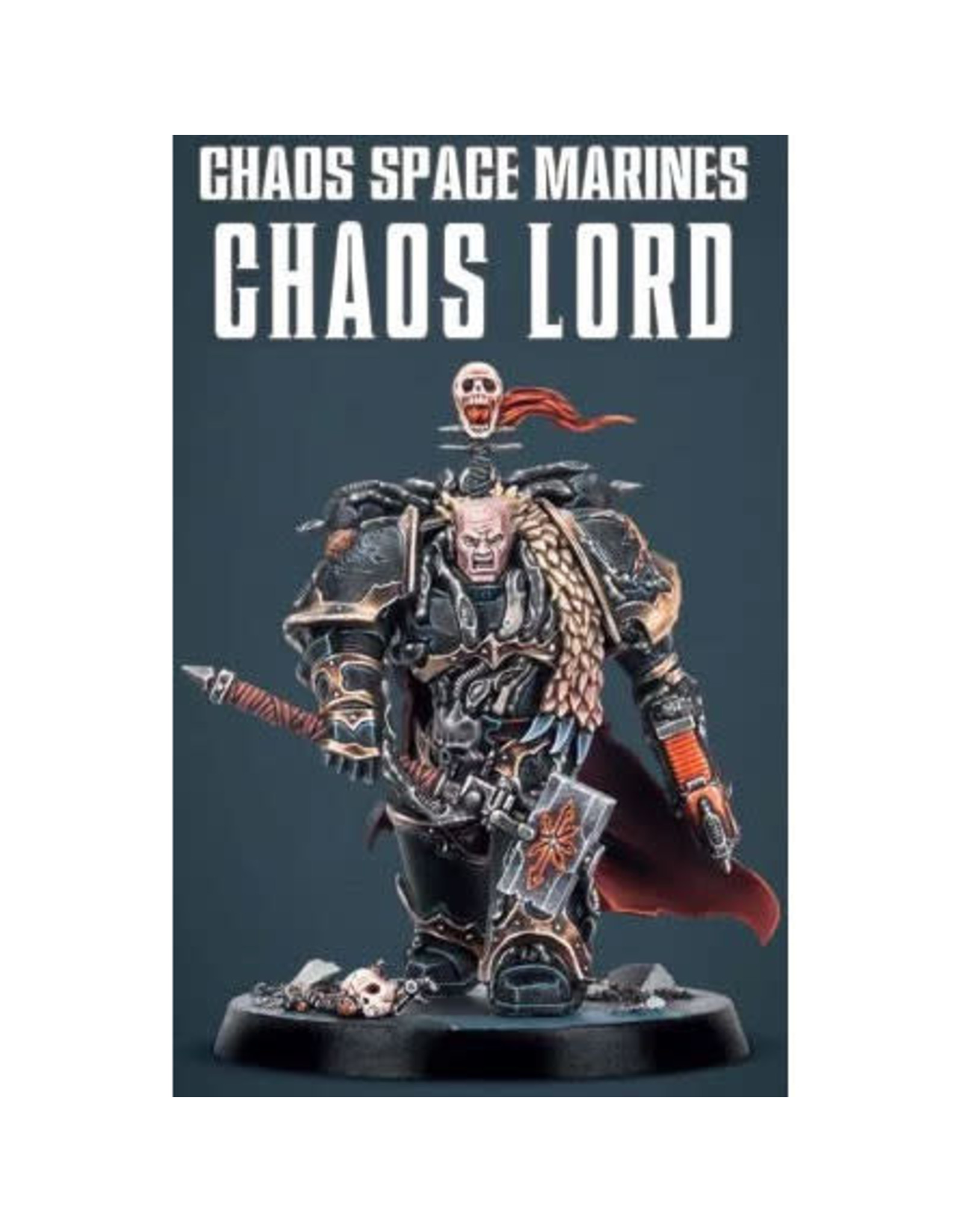 Chaos Space Marine Chaos Lord  (40K)