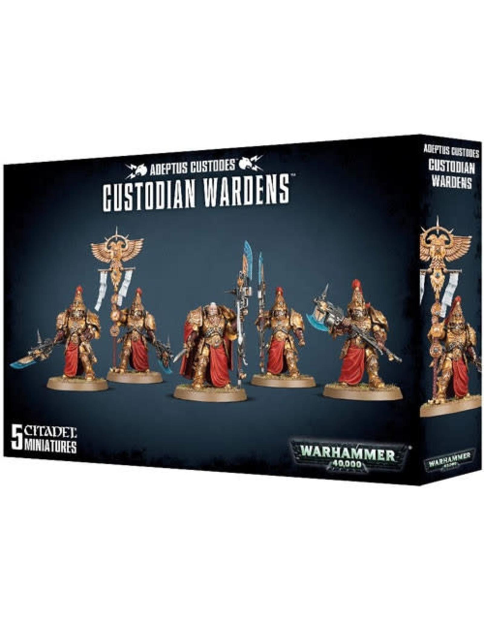 Adeptus Custodes Custodian Wardens (40K)