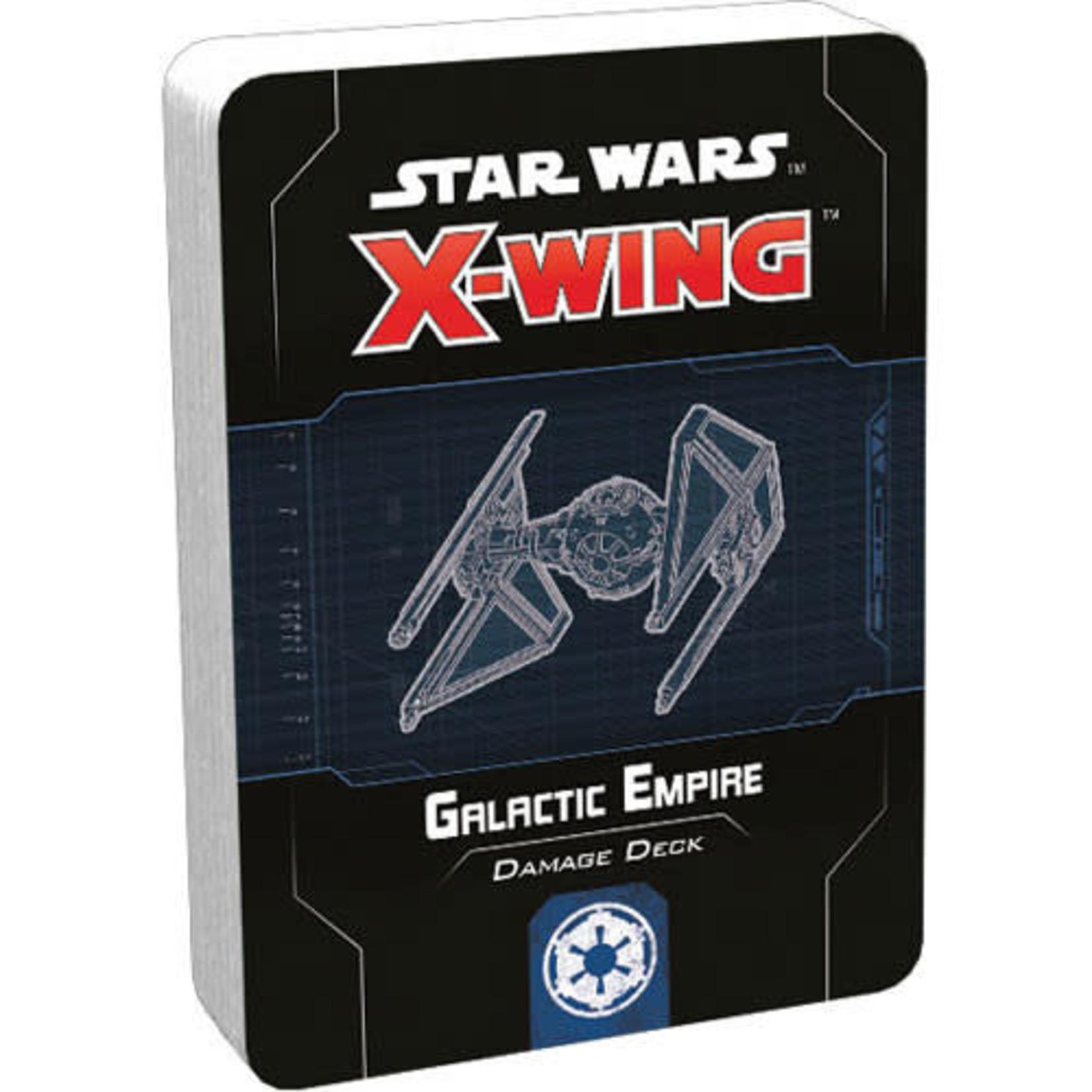 Asmodee Star Wars X-Wing 2e: Galactic Empire Damage Deck
