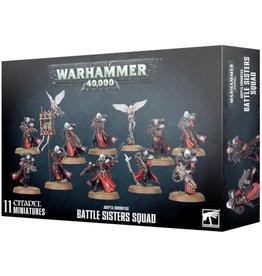 Adepta Sororitas Battle Sister Squad (40K)