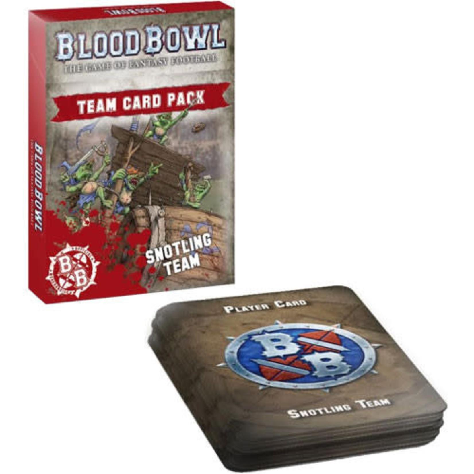 Blood Bowl: Snotling Team Cards