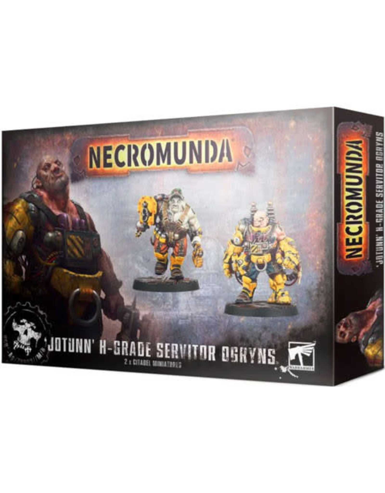 Games Workshop Necromunda H-Grade Servitor Ogryn