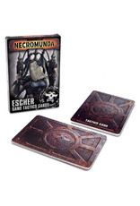 Necromunda Escher Gang Tactic Cards