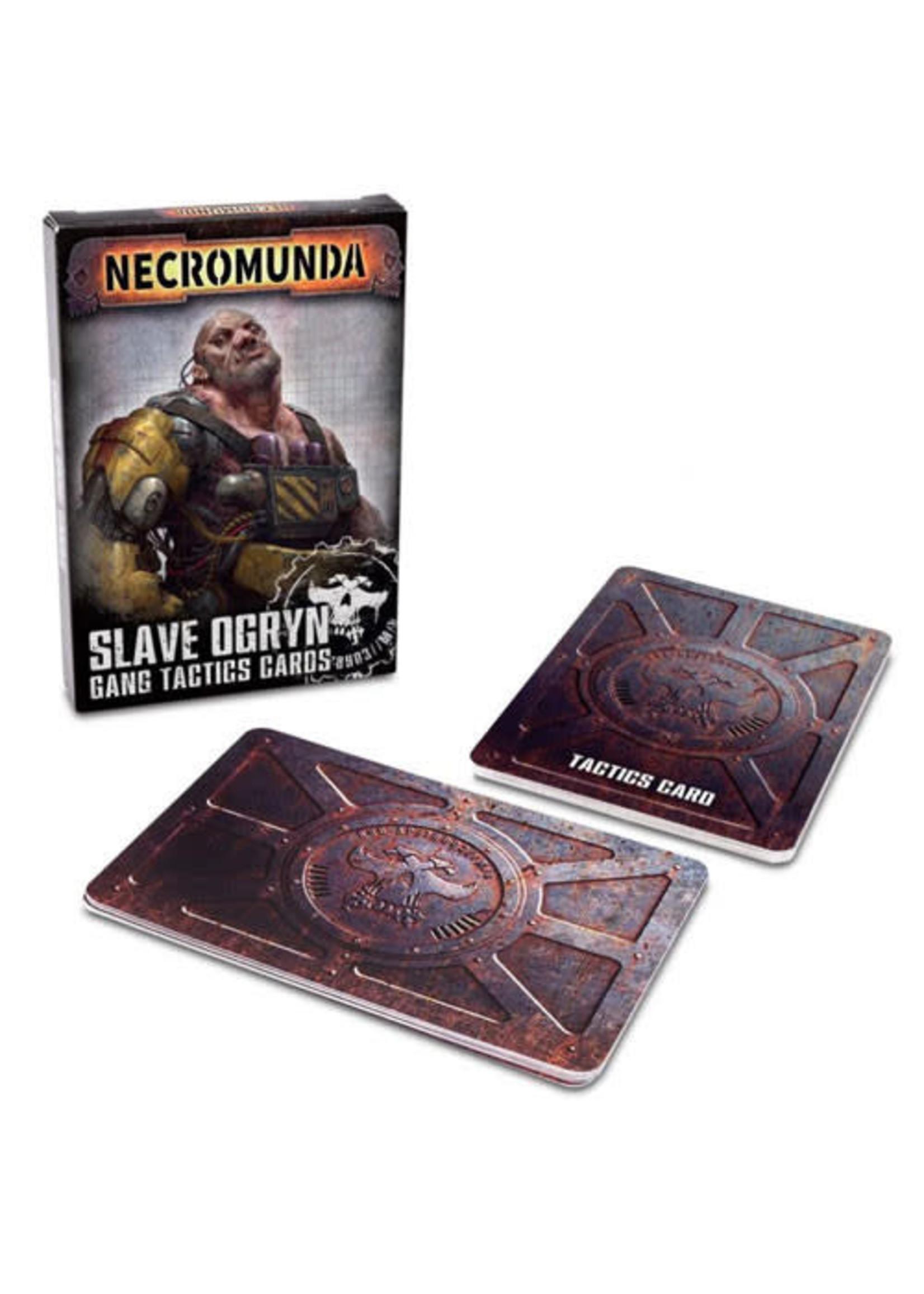 Necromunda Slave Ogryn Tactic Cards