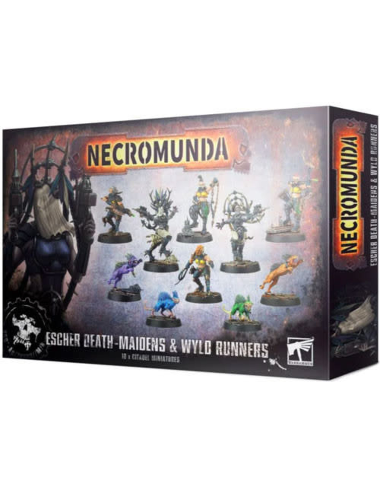 Games Workshop Necromunda Escher Death Maidens and Wyld Runners