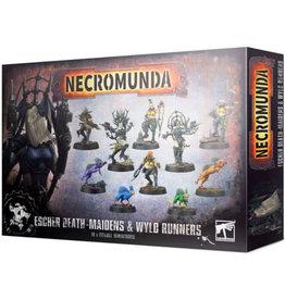 Games Workshop Necromunda Escher Death Maidens and Wyld Runners