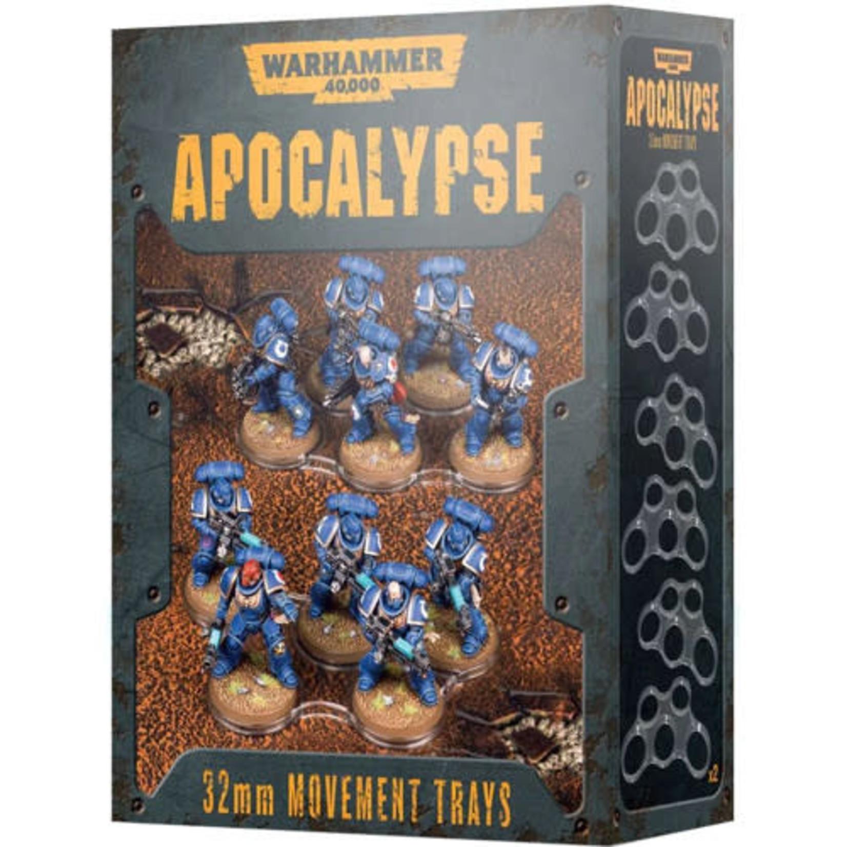Apocalypse Movement Trays 32mm (40K)