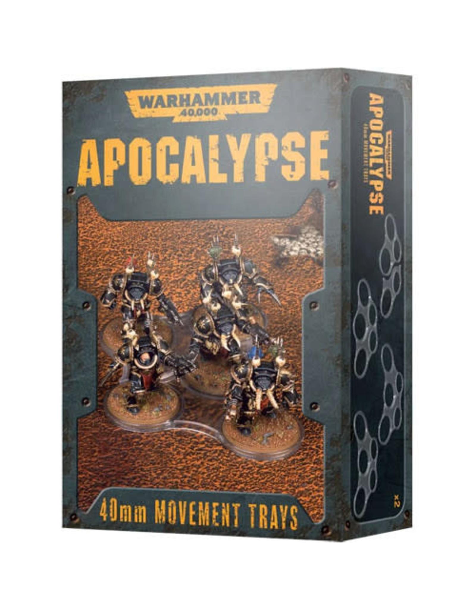 Apocalypse Movement Trays 40mm (40K)