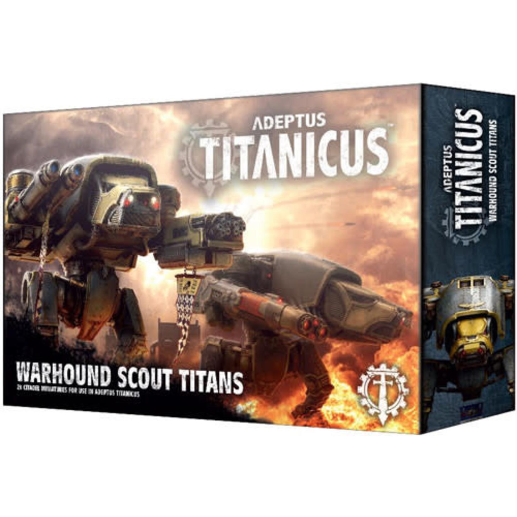 Adeptus Titanicus Warhound