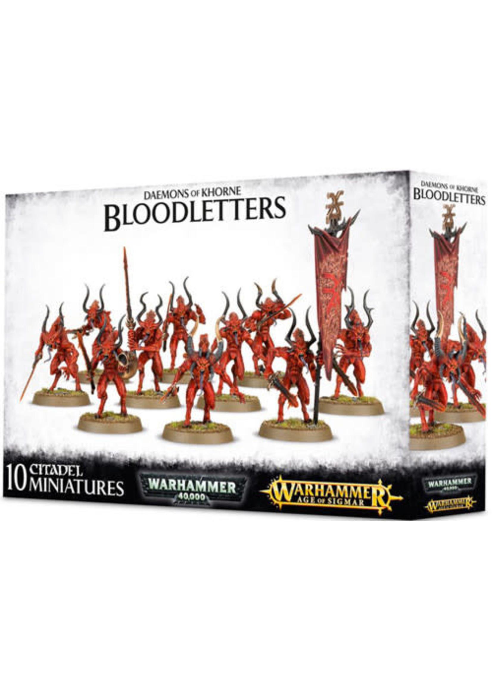 Chaos Daemons Bloodletters of Khorne (AOS)