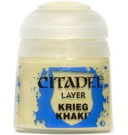 Games Workshop Citadel Paint: Krieg Khaki 12ml