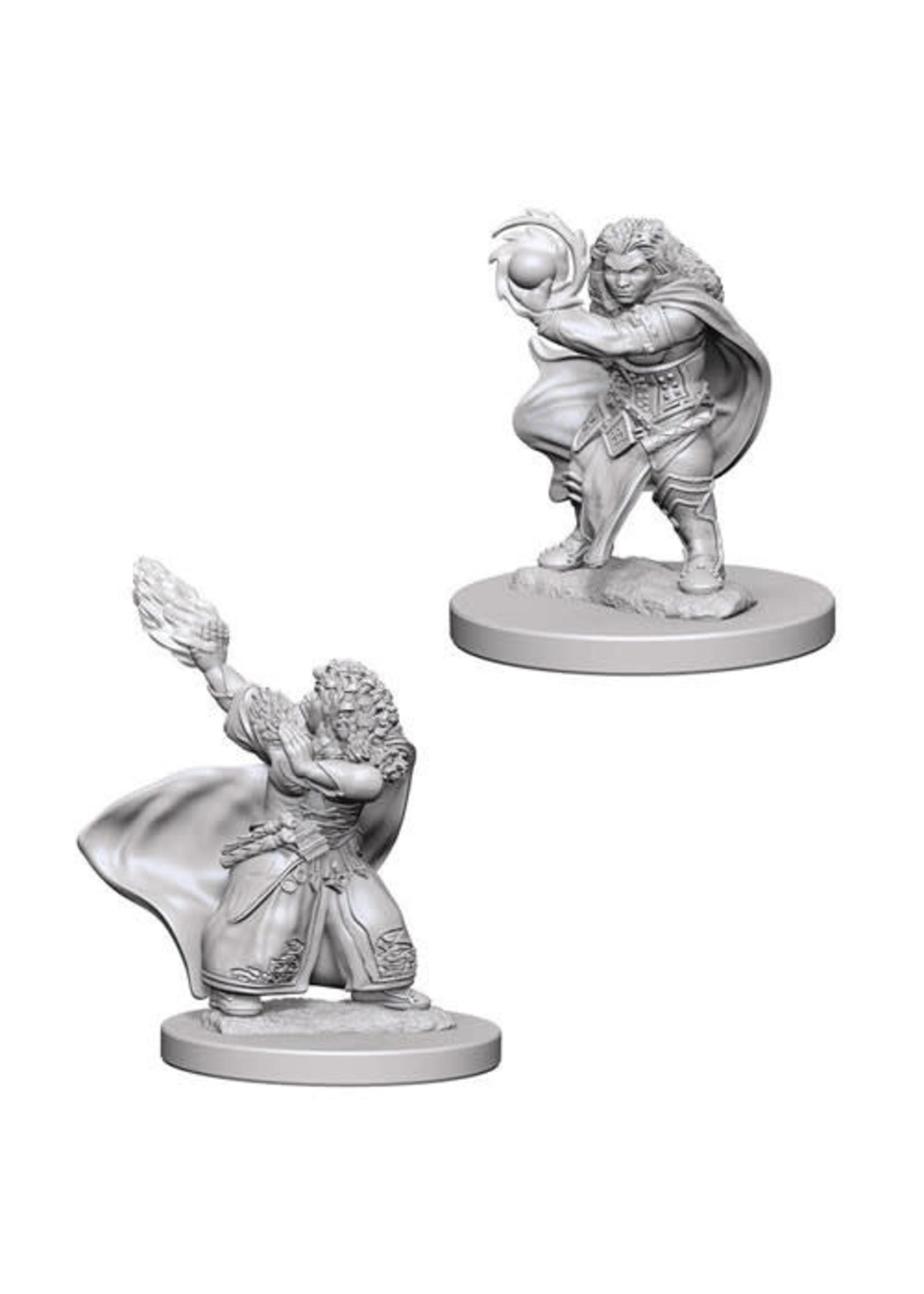 D&D Unpainted Minis: Dwarf Female Wizard