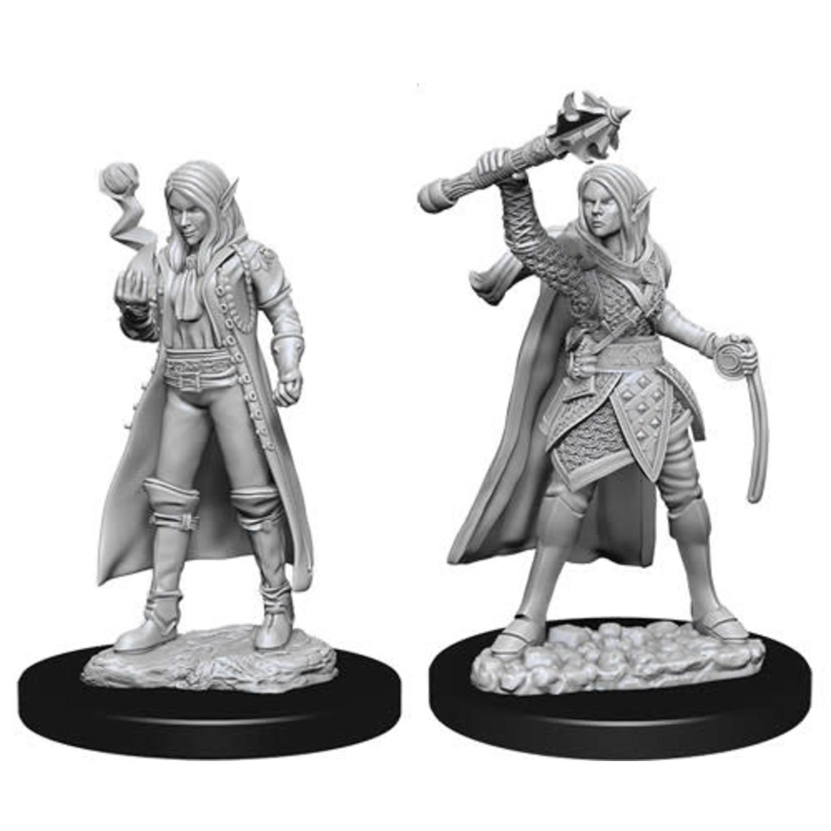 D&D Unpainted Minis: Elf Female Cleric (Wave 10)