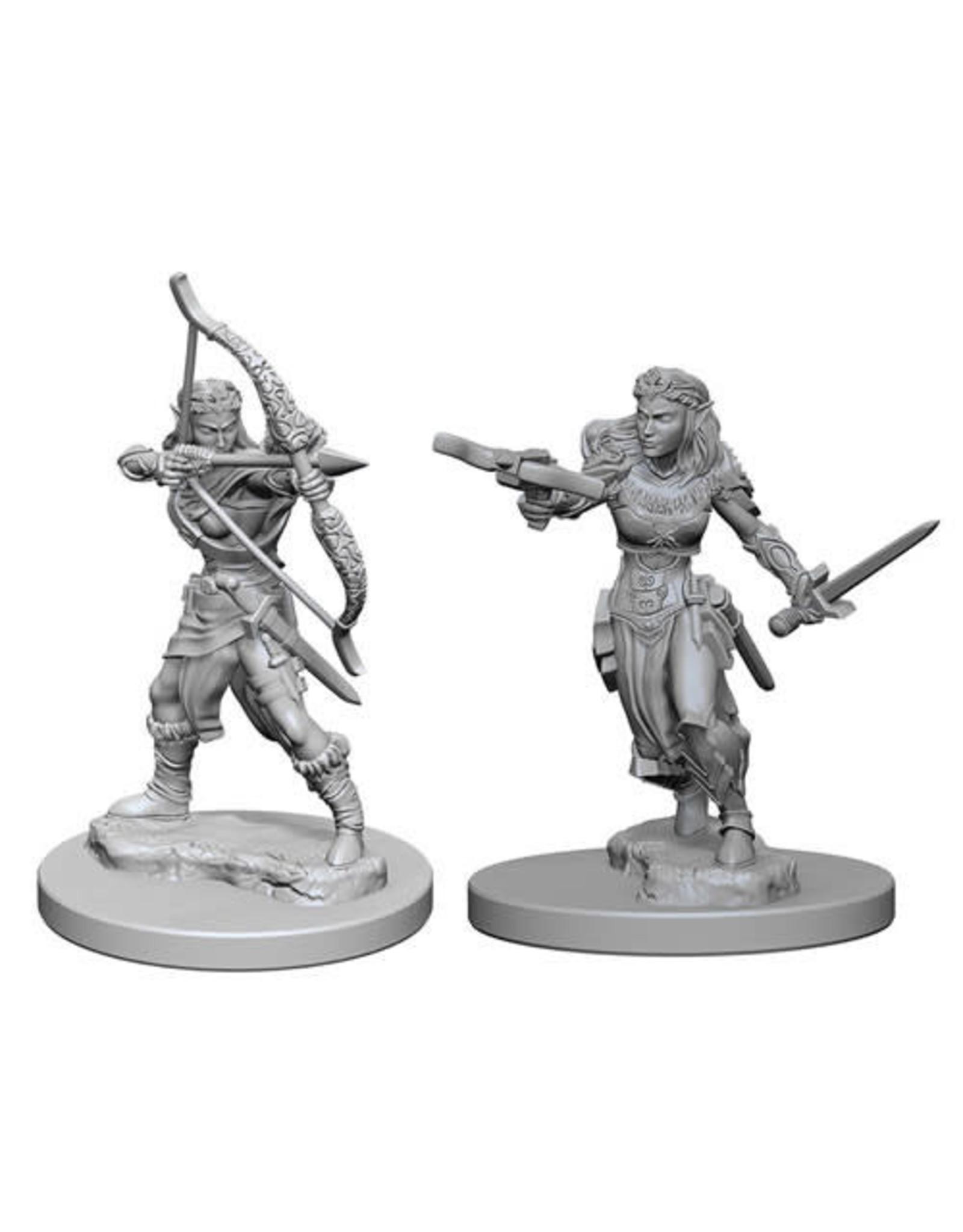 D&D Unpainted Minis: Elf Female Ranger