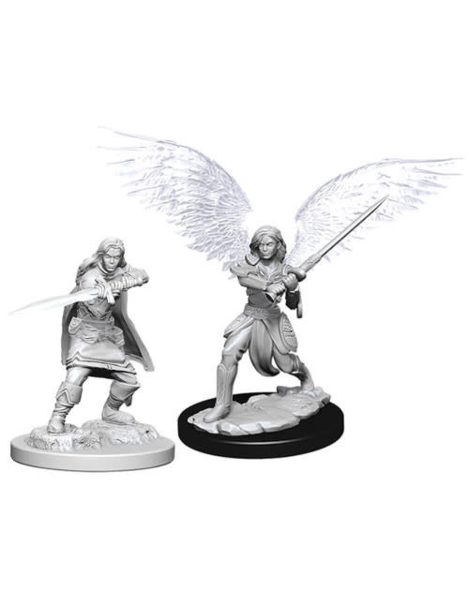 D&D Unpainted Minis: Female Aasimar Fighter