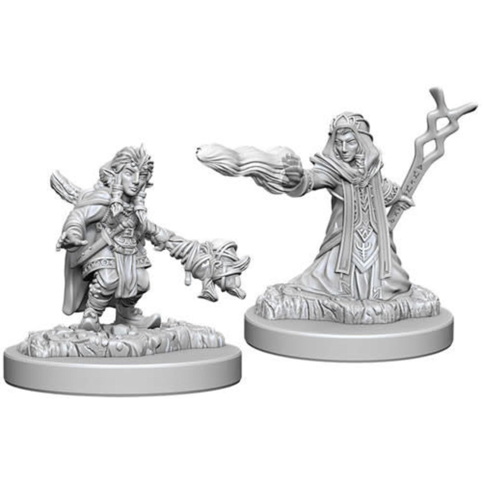 D&D Unpainted Minis: Female Gnome Wizard