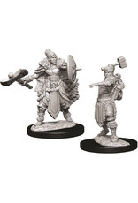 D&D Unpainted Minis: Half-Orc Female Barbarian (Wave 9)