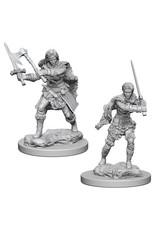 D&D Unpainted Minis: Human Female Barbarian