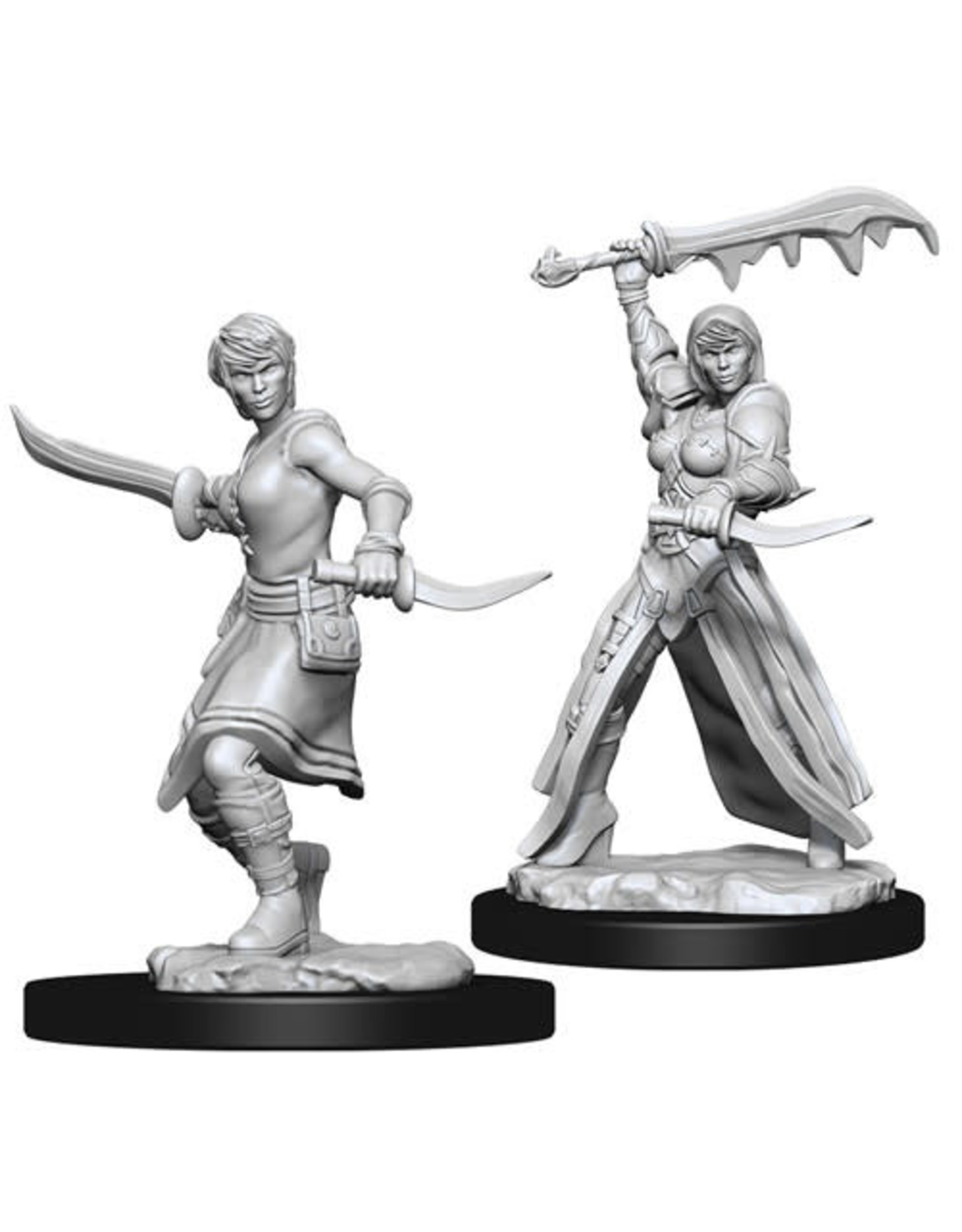 D&D Unpainted Minis: Human Female Rogue (Wave 10)