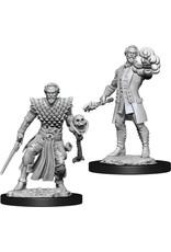 D&D Unpainted Minis: Human Male Warlock (Wave 10)