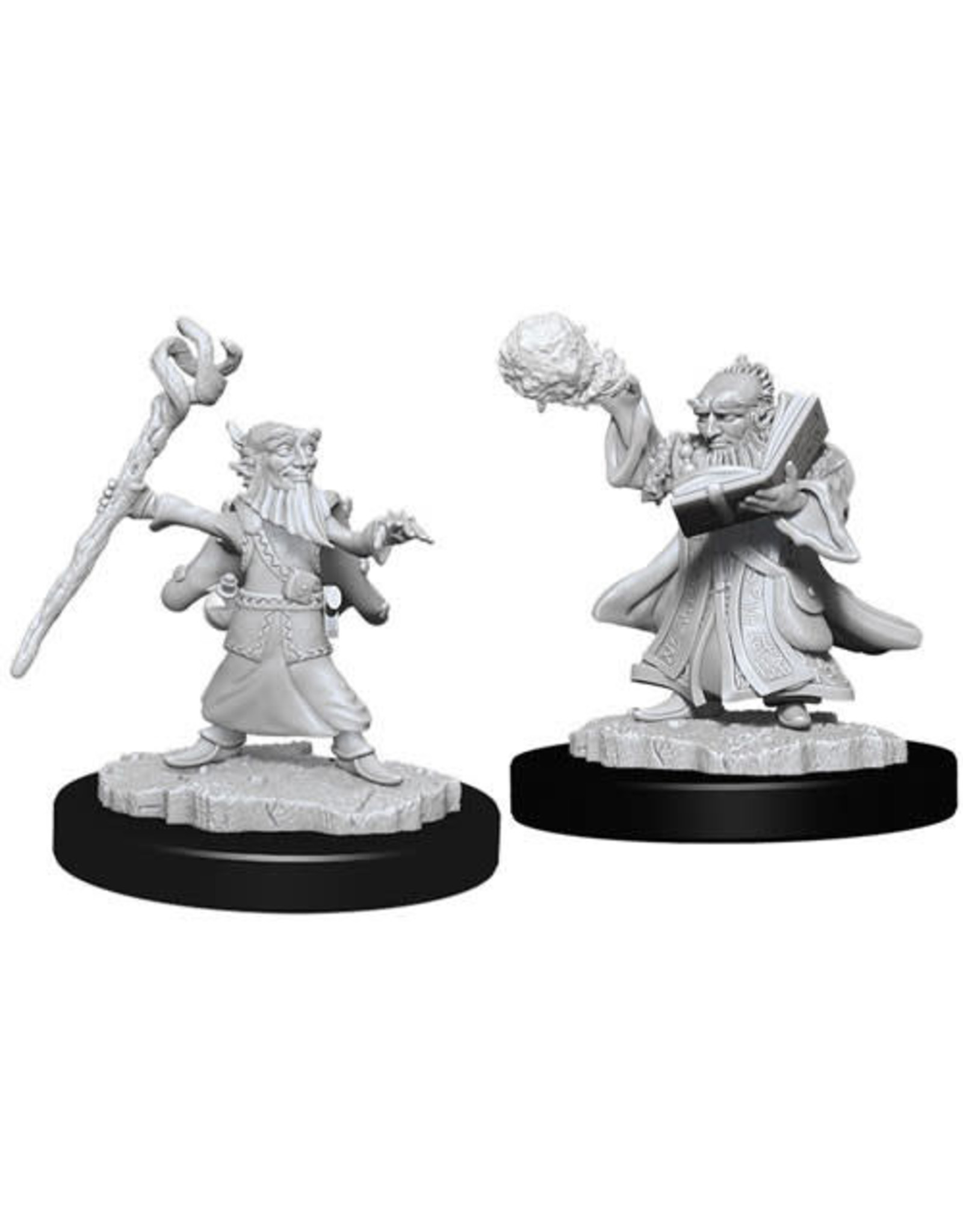 D&D Unpainted Minis: Male Gnome Wizard