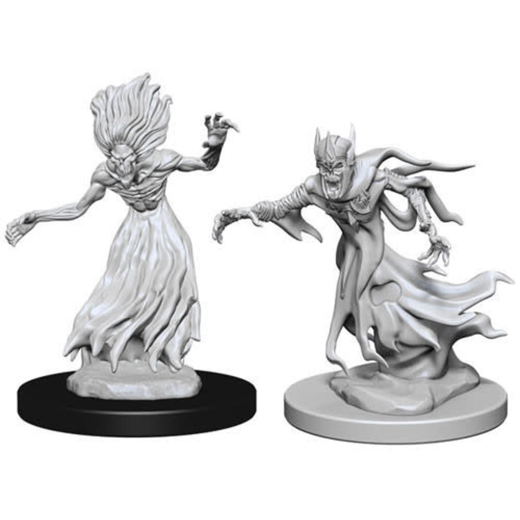 D&D Unpainted Minis: Wraith & Specter