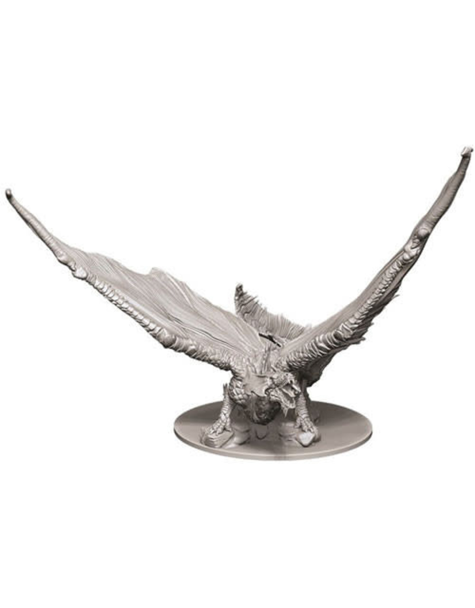 D&D Unpainted Minis: Young Brass Dragon (Wave 9)