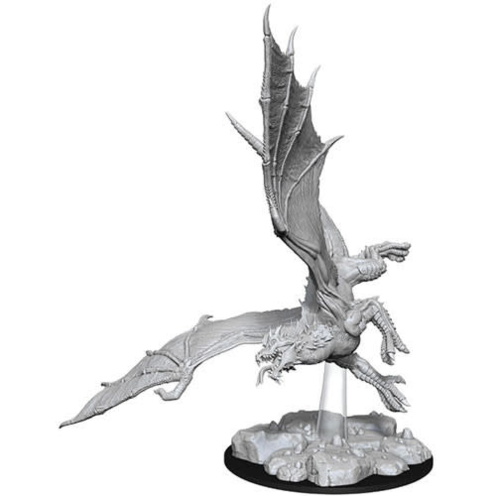 D&D Unpainted Minis: Young Green Dragon