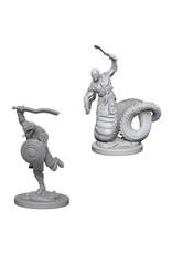 D&D Unpainted Minis: Yuan-Ti Malisons