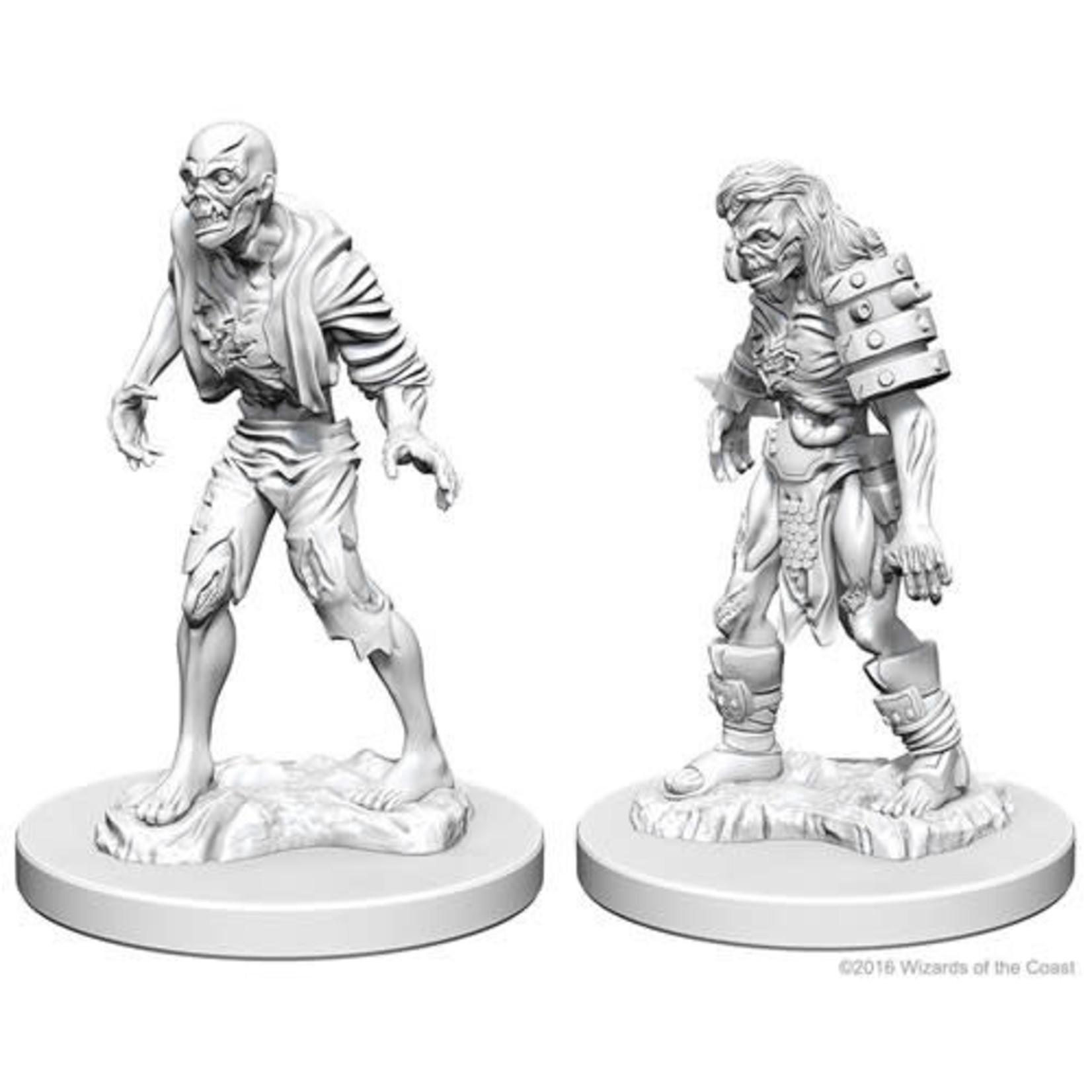 D&D Unpainted Minis: Zombies