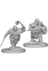 D&D Unpainted Minis:Dwarf Female Fighter
