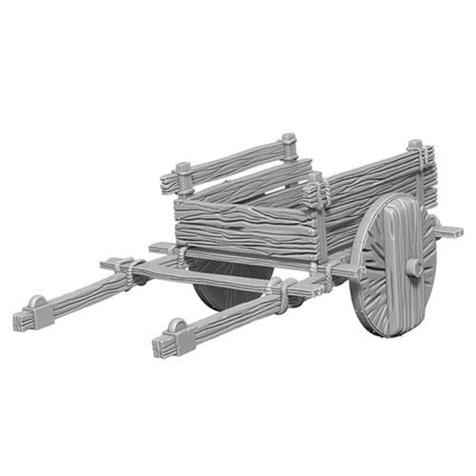 D&D Unpainted Minis: 2-Wheel Cart