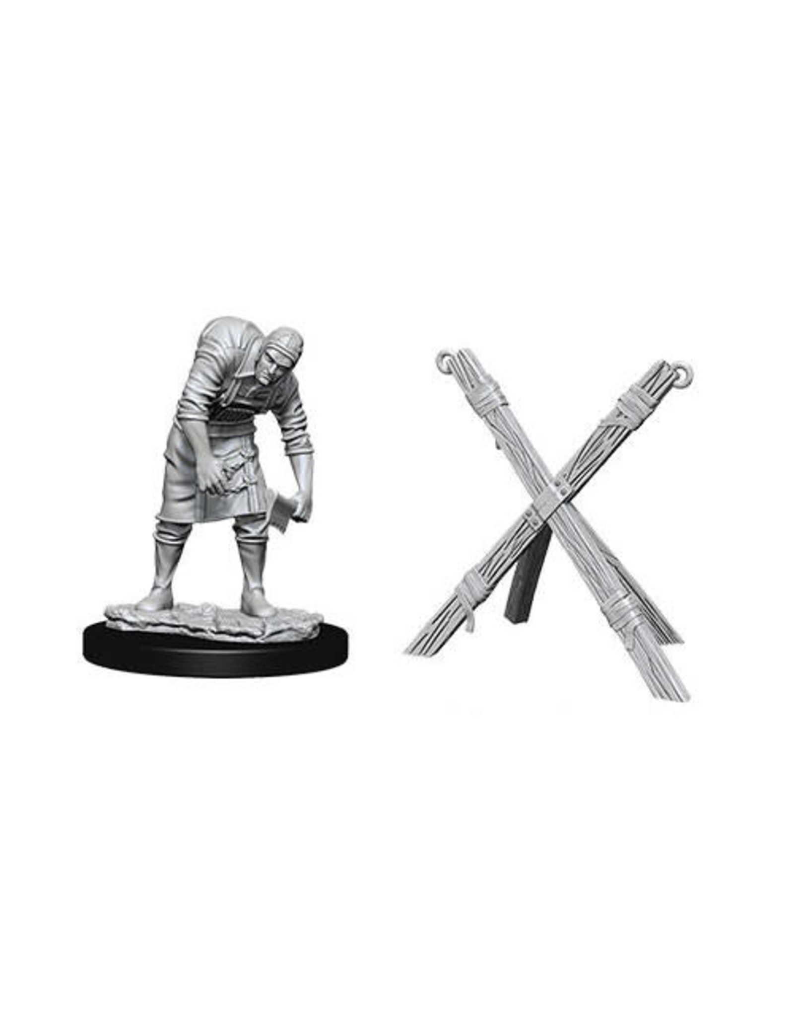 D&D Unpainted Minis: Assistant & Torture Cross