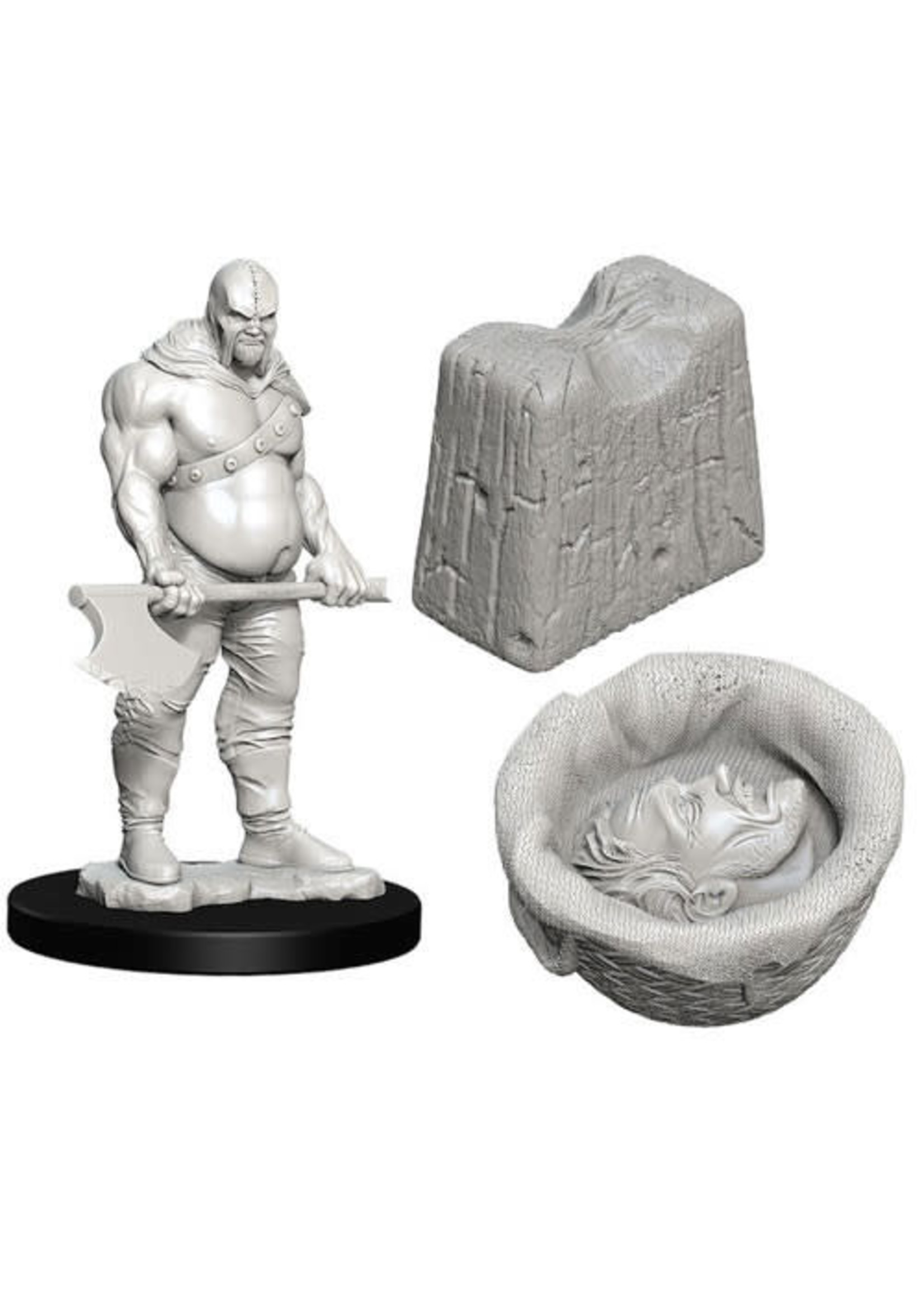 D&D Unpainted Minis: Executioner & Chopping Block