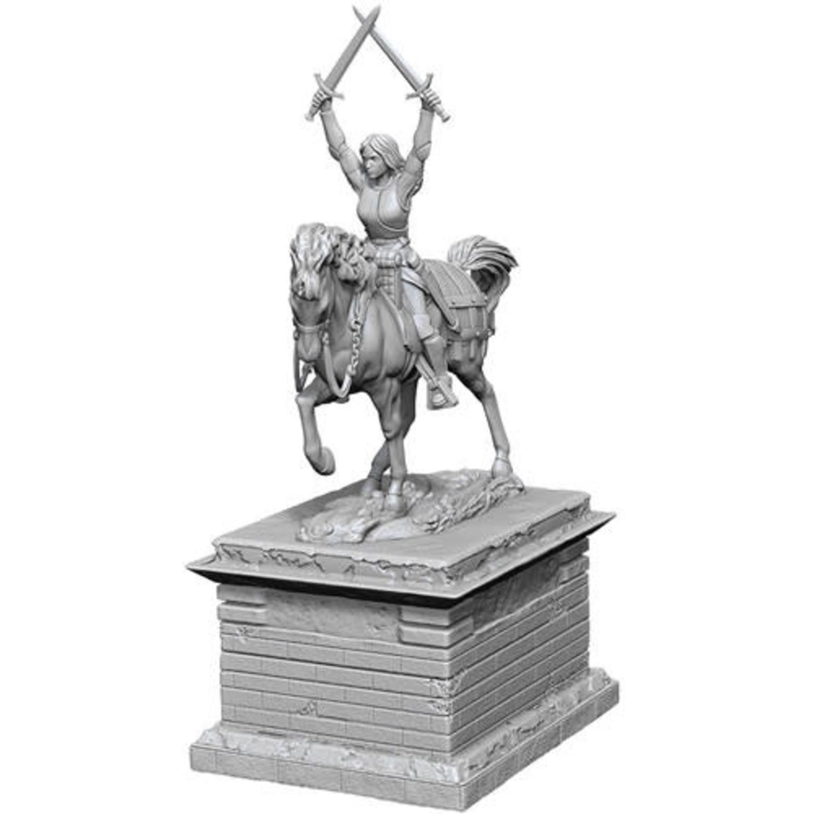 D&D Unpainted Minis: Heroic Statue (Wave 10)