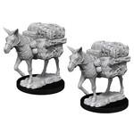 D&D Unpainted Minis: Pack Mule