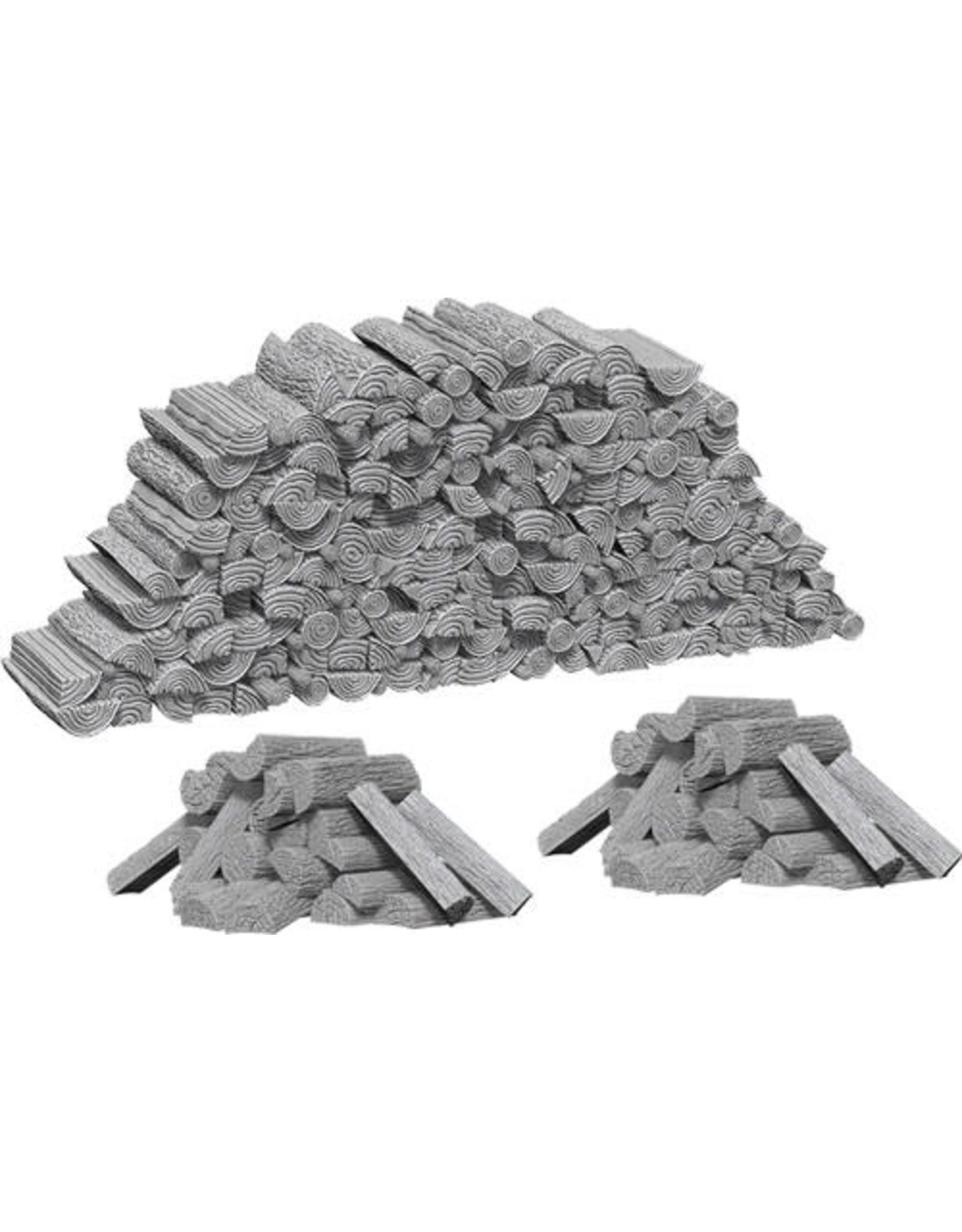 D&D Unpainted Minis: Piles of Wood (Wave 10)