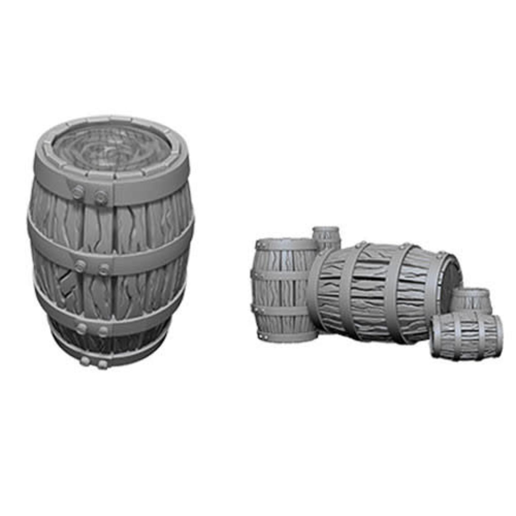 D&D Unpainted Minis: Barrels