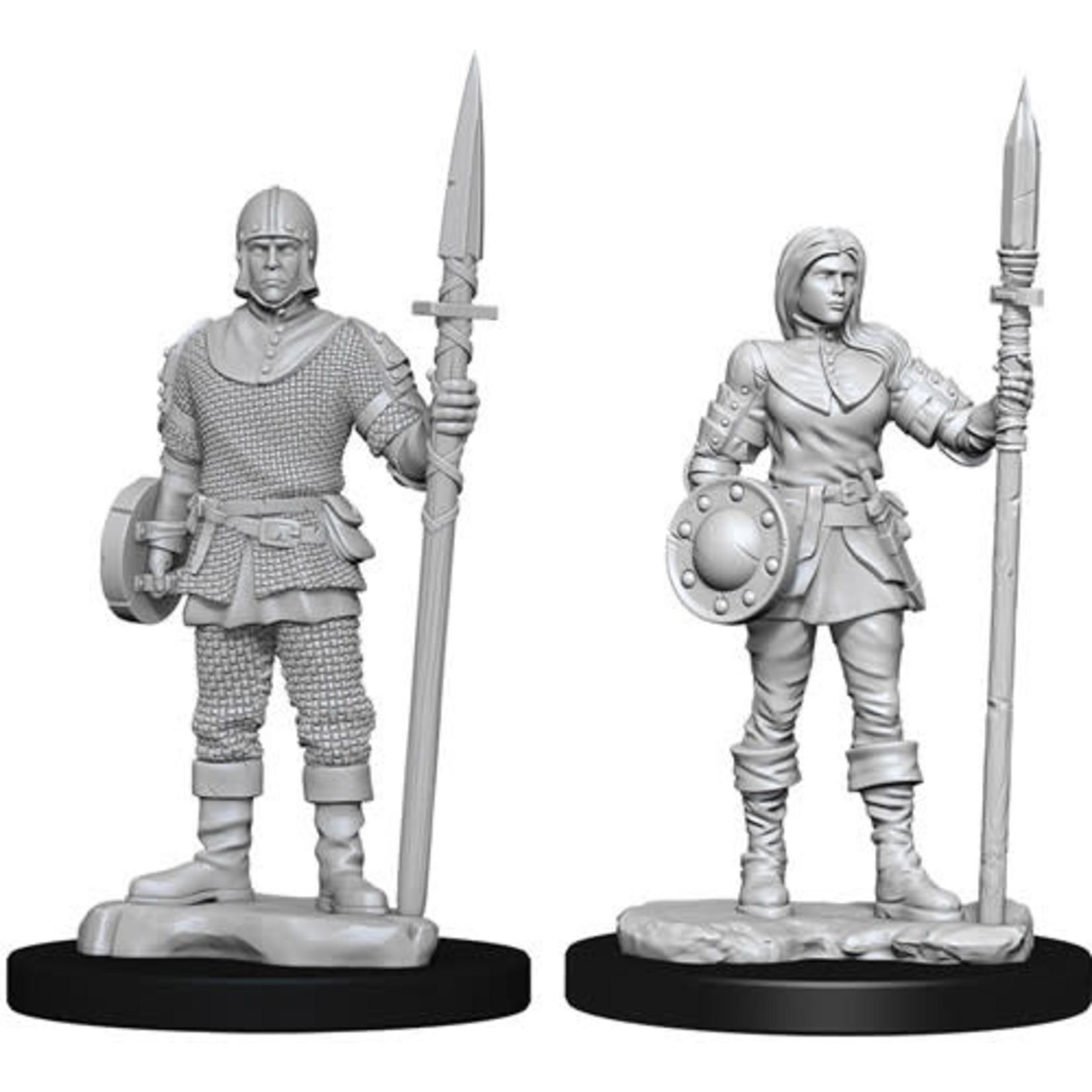 D&D Unpainted Minis: Guards (Wave 10)