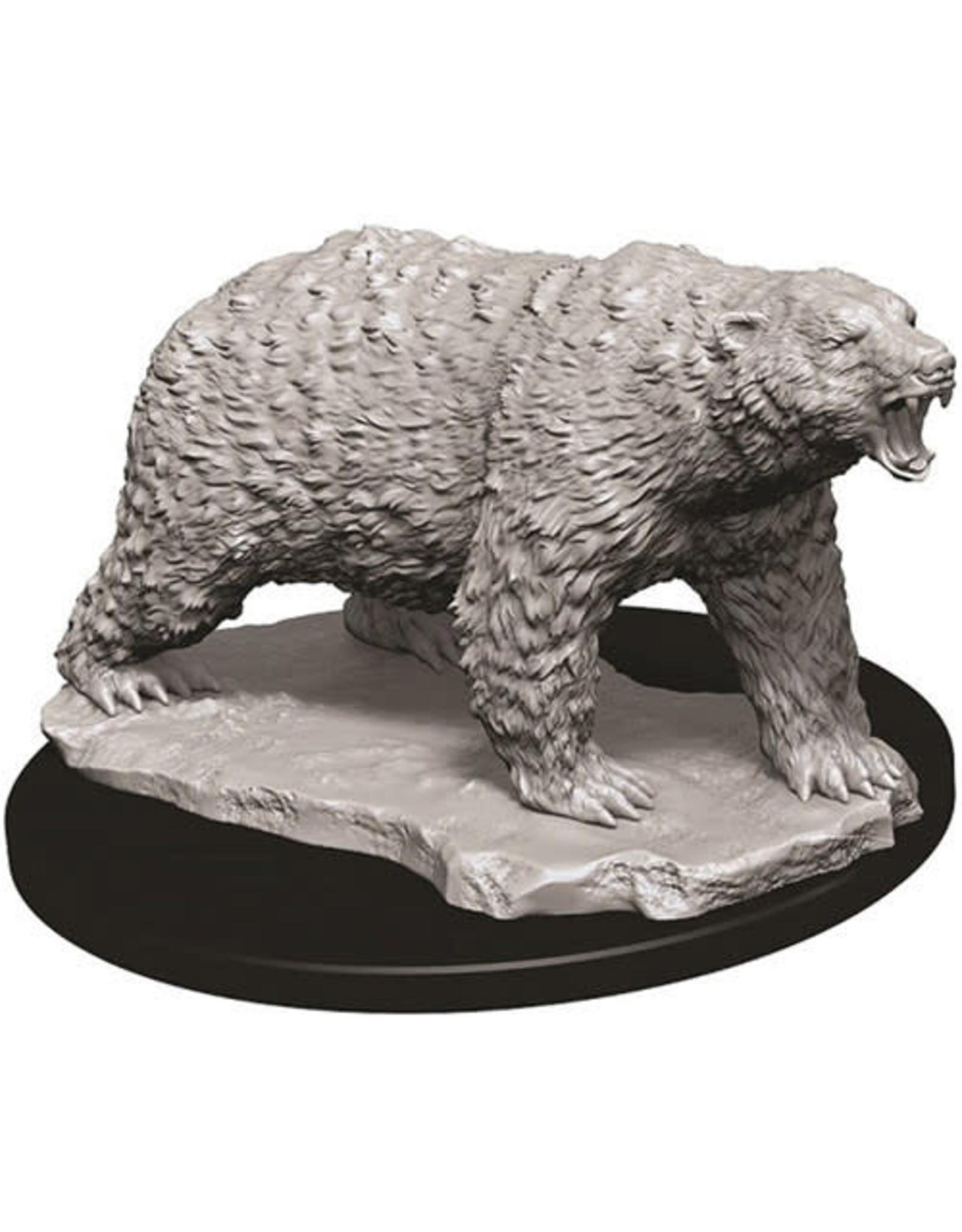 D&D Unpainted Minis: Polar Bear (Wave 9)