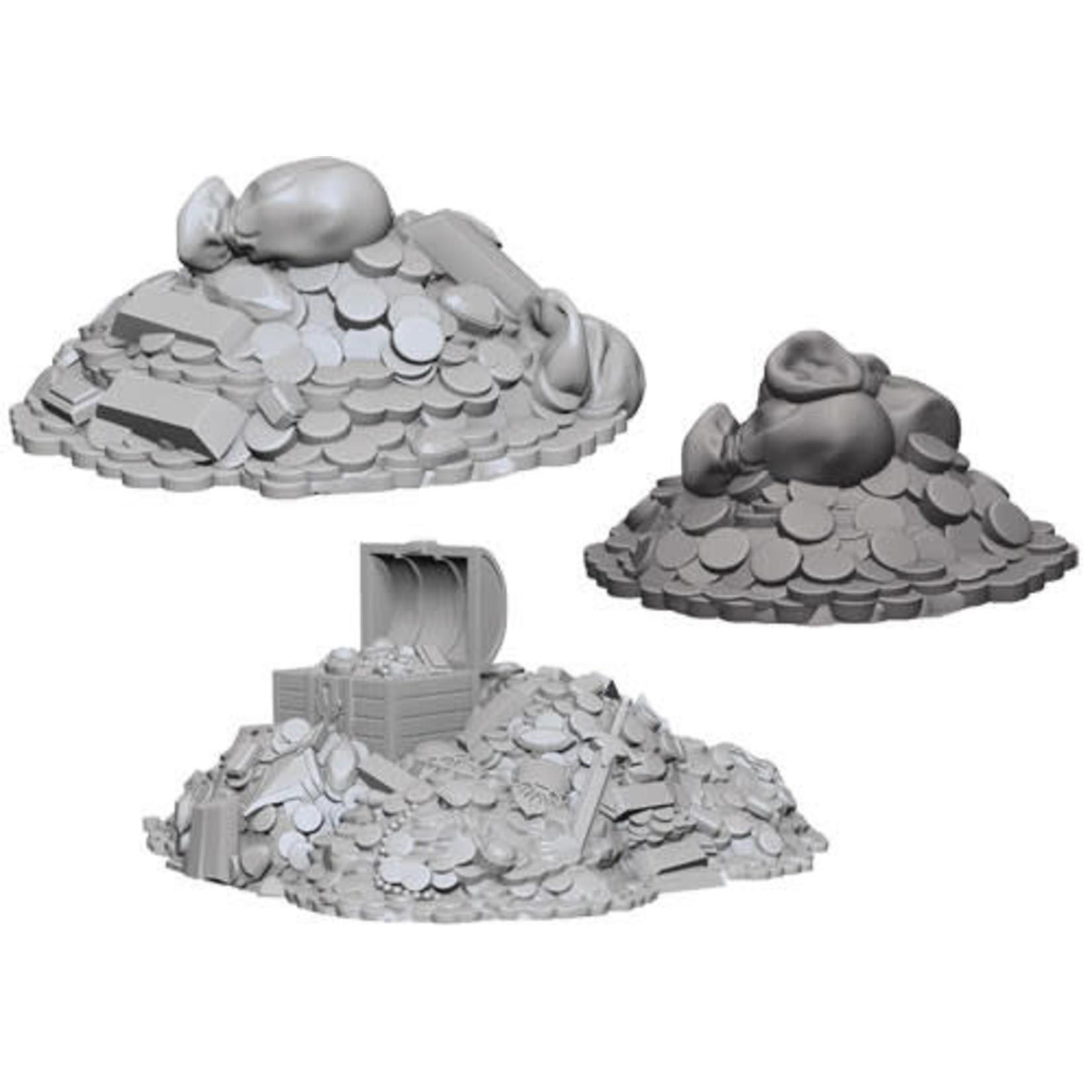 D&D Unpainted Minis: Treasure Piles