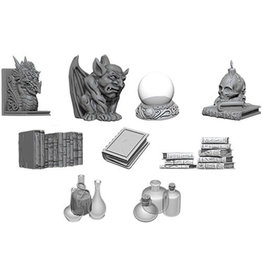 D&D Unpainted Minis: Wizards Room